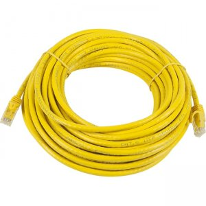 Monoprice FLEXboot Series Cat5e 24AWG UTP Ethernet Network Patch Cable, 50ft Yellow 11349
