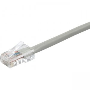 Monoprice ZEROboot Series Cat5e 24AWG UTP Ethernet Network Patch Cable, 50ft Gray 13175