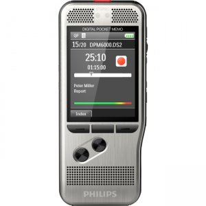 Philips Pocket Memo Voice Recorder DPM6000/01 DPM6000