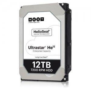 WD 12TB 3.5-inch Helium Platform Enterprise Hard Drive 0F29530 HUH721212AL5200