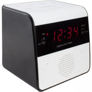 La Crosse Technology FM Clock Radio with USB Charging Port 30118