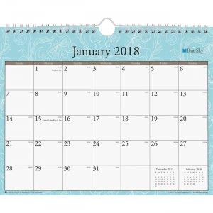 Blue Sky Knightsbridge Wall Calendar 101555 BLS101555