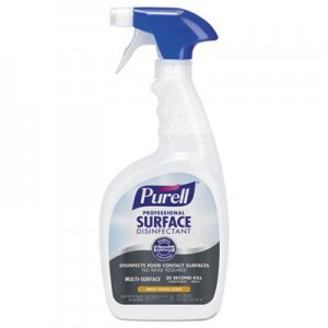 PURELL Professional Surface Disinfectant, Fresh Citrus, 32 oz Spray Bottle GOJ334212EA 3342-12