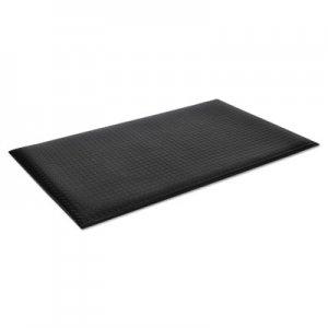 Crown Wear-Bond Comfort-King Anti-Fatigue Mat, Diamond Emboss, 24 x 36, Black CWNWBZ023KD WB Z023KD