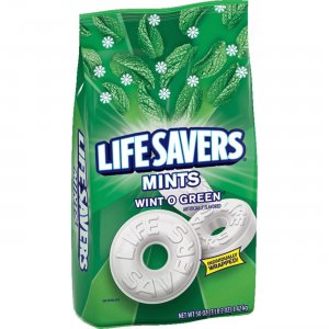 Life Savers Wint O Green Mints Bag - 3 lb. 2 oz 21524 MRS21524