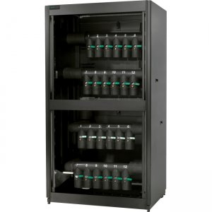 Schneider Electric Cooling Distribution Unit 12 Circuit, Bottom/Top Mains, Top Distribution Piping ACFD12-T