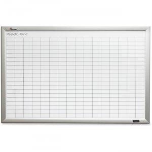 SKILCRAFT Quartet Magnetic Work/Plan Kits - 6'W x4'L 34 Columns 41 Rows 7110016221763 NSN6221763