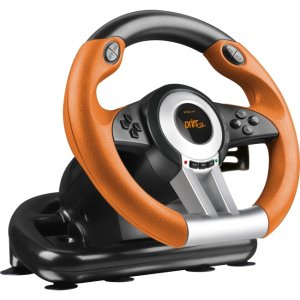 SPEEDLINK DRIFT O.Z. Racing Wheel PC, Black-Orange SL-6695-BKOR-01