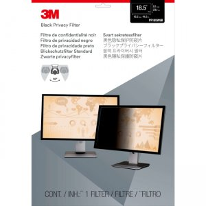 """3M Privacy Filter for 18.5"""" Widescreen Monitor PF185W9B"""