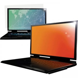 """3M Gold Privacy Filter for 14.1"""" Widescreen Laptop (16:10) GF141W1B"""