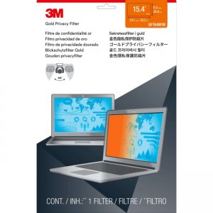 """3M Gold Privacy Filter for 15.4"""" Widescreen Laptop (16:10) GF154W1B"""