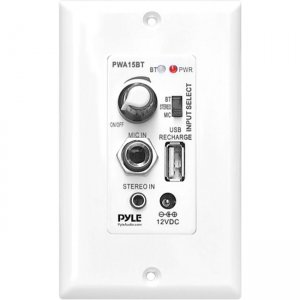 PyleHome A/V Control Panel PWA15BT