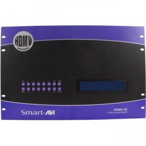 SmartAVI HDMV-9X 9-Port Full HD Multiviewer for a Single Monitor SM-HDMV-9XS