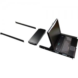 Black Box KVM Tray With Keyboard, Touchpad, And LCD Monitor KVT417A-16CATX-4IP KVT417A