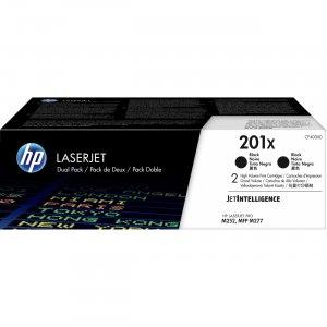 HP 2-Pack High Yield Black Original LaserJet Toner Cartridges CF400XD HEWCF400XD 201X