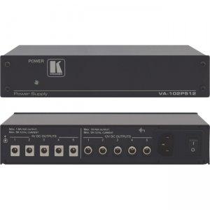 Kramer 10-Port Dual Voltage DC Power Supply VA-102P512