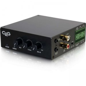 C2G 8 Ohm 50W Audio Amplifier - Plenum Rated 40880