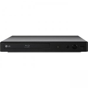 LG Blu-ray Disc Player with Streaming Services and Built-in Wi-Fi BP350.BUSALLK BP350