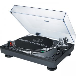 Audio-Technica Direct-Drive Professional Turntable (USB & Analog) AT-LP120BK-USB