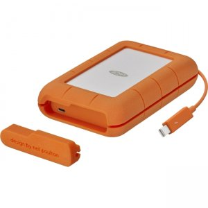 LaCie Rugged Drive with Integrated Thunderbolt Cable STFS4000800