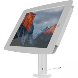 MacLocks The Rise iPad Kiosk - iPad Stand with Cable Management TCDP03W235SMENW