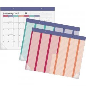 At-A-Glance Harmony Colorful Desk Calendar Pad D6099704 AAGD6099704