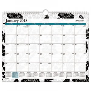 At-A-Glance Madrid Monthly Wall Calendar PM93707 AAGPM93707