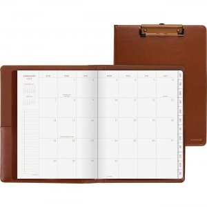 At-A-Glance Signature Collection ClipFolio with Monthly Planner YP60009 AAGYP60009