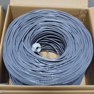 Premiertek Cat5e Bulk Cable 1000ft (Gray) CAT5E-1KFT-GY