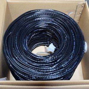 Premiertek Cat5e Bulk Cable 1000ft (Black) CAT5E-1KFT-BK