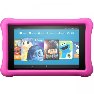 "Amazon All-New Fire 8 Kids Edition Tablet, 8"" Display, 32 GB, Pink Kid-Proof Case B01J94SCAM HD"