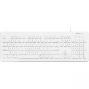 Macally 104 Key Full Size USB Wired Keyboard and Mouse for Mac and PC MKEYXU2COMBO MKEYXU2