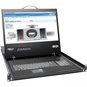 Tripp Lite NetCommander 16-Port Cat5 1U Rack-Mount Console KVM Switch B070-016-19-IP2