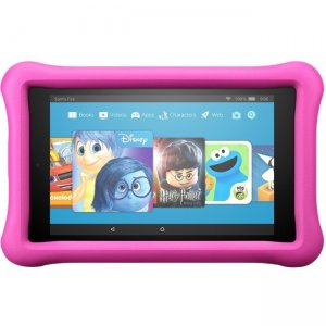 "Amazon All-New Fire 7 Kids Edition Tablet, 7"" Display, 16 GB, Blue Kid-Proof Case B01J90MOVY"