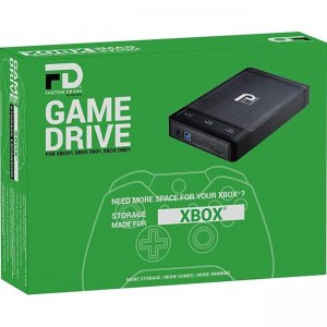 Fantom Drives Xbox 4TB 7200RPM Game Drive with 3 USB3.0 Port Hub XB-4TB-HUB