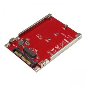 StarTech.com M.2 Drive to U.2 (SFF-8639) Host Adapter for M.2 PCIe NVMe SSDs U2M2E125