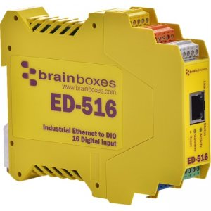 Brainboxes Ethernet To Digital IO 16 Inputs ED-516-X20M ED-516