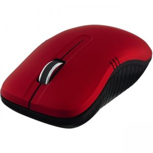 Verbatim Wireless Notebook Optical Mouse, Commuter Series - Matte Red 99767