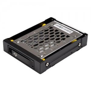 "StarTech.com 2.5"" SATA Drive Hot Swap Bay for 3.5"" Front Bay - Anti-Vibration SATBP125VP"