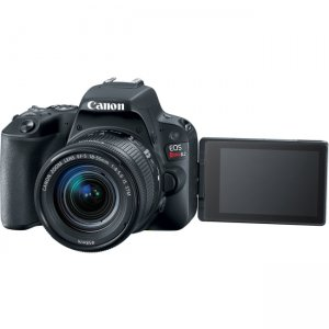 Canon EOS Rebel Black EF-S 18-55mm f/4-5.6 Kit 2249C002 SL2