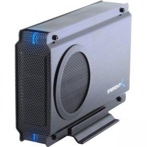 Sabrent USB 2.0 TO SATA/SATA II Aluminum Enclosure With Cooling Fan EC-UEIS7-PK20 EC-UEIS7