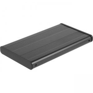 Sabrent 2.5-Inch SATA Aluminum Hard Drive to USB 2.0 Enclosure Silver EC-25HSU-PK50 EC-25HSU
