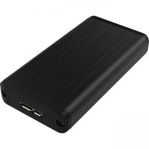 Sabrent USB 3.0 MSATA II Enclosure Black EC-UKMS-PK50 EC-UKMS
