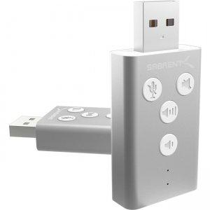 Sabrent USB Audio Sound Adapter AU-DDAS-PK100 AU-DDAS