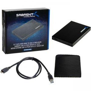 Sabrent Ultra Slim 2.5-Inch SATA to USB 3.0 External Aluminum Hard Drive Enclosure EC-RA25-PK20 EC