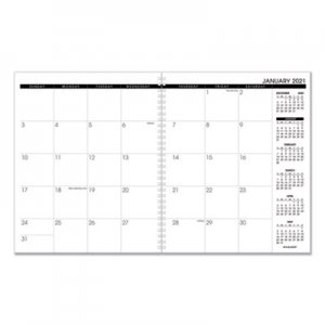 At-A-Glance Monthly Planner Refill, 9 x 11, White, 2021 AAG7092371 7092371