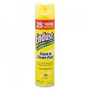 Diversey Endust Multi-Surface Dusting and Cleaning Spray, Lemon Zest, 6/Carton DVOCB508171 CB508171