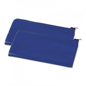 Genpak Zippered Wallets/Cases, 11 x 6, Blue UNV69020