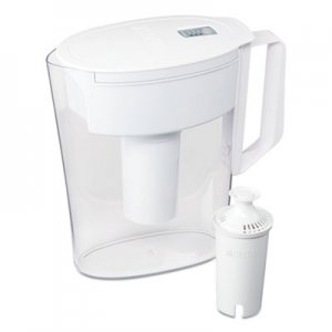 Brita Classic Water Filter Pitcher, 40 oz, 5 Cups CLO36089EA 36089EA