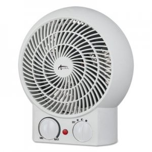 "Alera Heater Fan, 8 1/4"" x 4 3/8"" x 9 3/8"", White ALEHEFF10W"